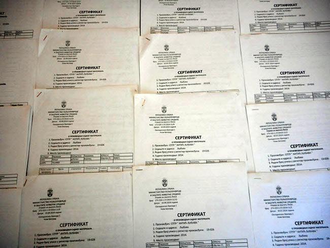 sertifikat3 Katalog Sadnica